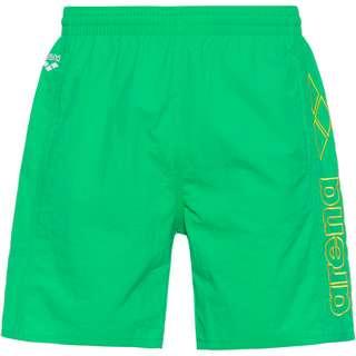 Arena Berryn Badeshorts Herren golf green-white-yellow star
