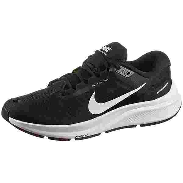 Nike AIR ZOOM STRUCTURE 24 Laufschuhe Herren black-white