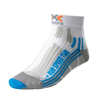X-SOCKS Speed Two Laufsocken Damen white-turquoise