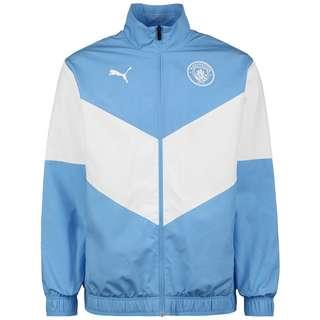 PUMA Manchester City Pre-Match Trainingsjacke Herren hellblau / weiß