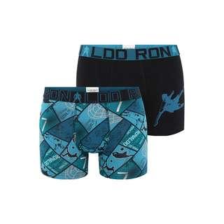 CR7 Cristiano Ronaldo Retro Pants BOYS Boxer Kinder Blau/Grün (532)