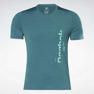 Reebok ACTIVCHILL Graphic Move T-Shirt Funktionsshirt Herren Grün