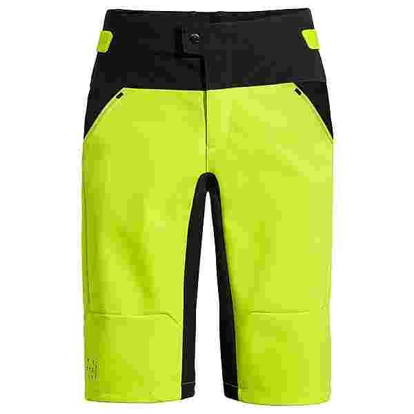 VAUDE Men's Qimsa Softshell Shorts Trekkinghose Herren neon yellow