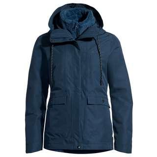 VAUDE Women's Kilia 3in1 Jacket II Doppeljacke Damen dark sea