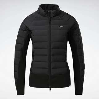 Reebok DMX Training Hybrid Winter Jacket Funktionsjacke Damen Black / Reflective Silver