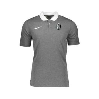Nike SC Freiburg Polo Kids Poloshirt Kinder grau