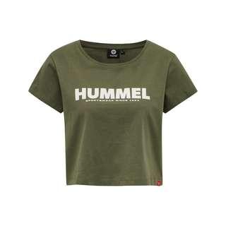 hummel hmlLEGACY WOMAN CROPPED T-SHIRT T-Shirt Damen BEETLE