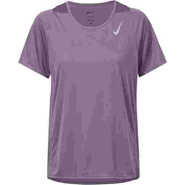 Nike Dri-FIT Race Funktionsshirt Damen amethyst smoke-reflective silv