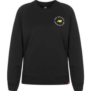 NEW BALANCE Essentials Athletic Club Sweatshirt Damen schwarz