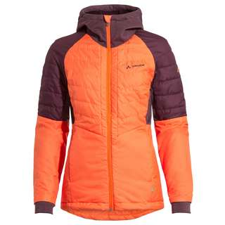 VAUDE Women's Cyclist Hybrid Jacket Outdoorjacke Damen neon orange