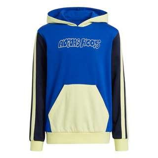 adidas Lil Stripe Hoodie Hoodie Kinder Bold Blue / Legend Ink / Pulse Yellow