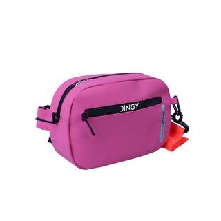 Dingy Weather One-funny bag Sporttasche rosa rot