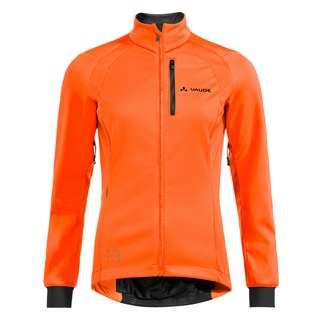 VAUDE Women's Posta Softshell Jacket Outdoorjacke Damen neon orange