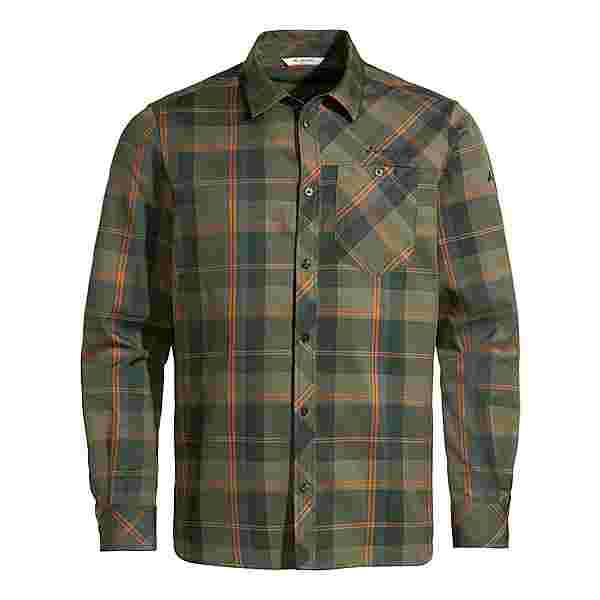 VAUDE Men's Neshan LS Shirt IV Funktionsbluse Herren cedar wood