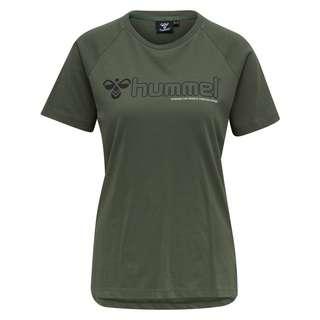 hummel hmlZENIA T-SHIRT S/S T-Shirt Damen BEETLE