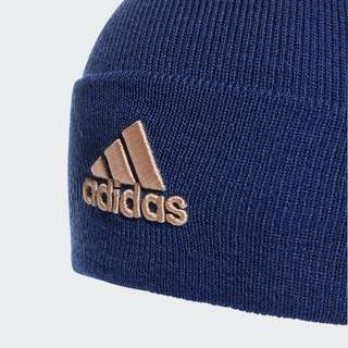 adidas Logo Mütze Beanie Herren Victory Blue / Halo Blush
