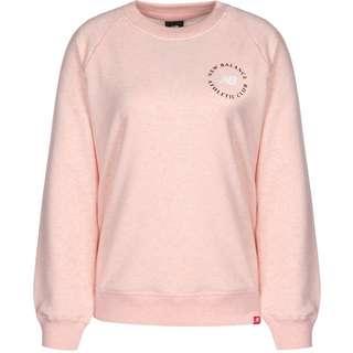 NEW BALANCE Essentials Athletic Club Sweatshirt Damen pink