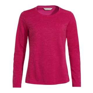 VAUDE Women's Essential LS T-Shirt T-Shirt Damen crimson red