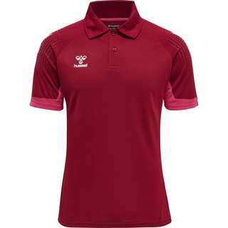 hummel hmlLEAD FUNCTIONAL POLO Poloshirt Herren BIKING RED