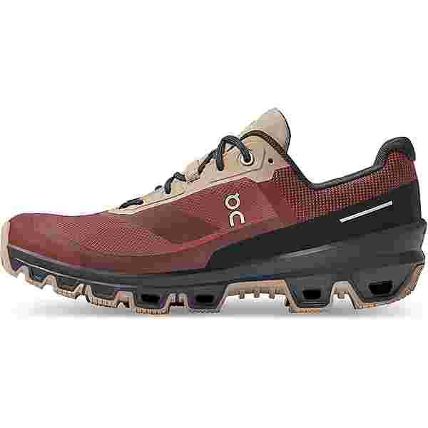 ON Cloudventure Waterproof Trailrunning Schuhe Damen ruby-magnet