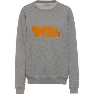 FJÄLLRÄVEN Logo Sweatshirt Damen grey-melange