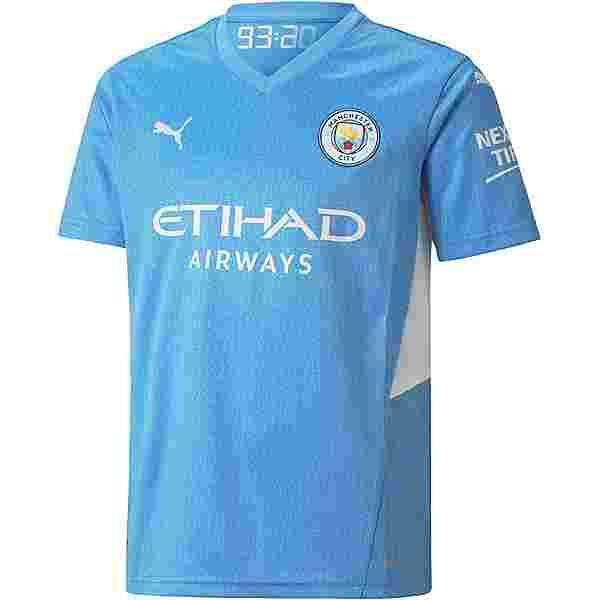 PUMA Manchester City 21-22 Heim Trikot Kinder team light blue-puma white