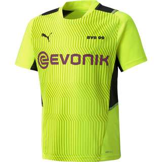 PUMA Borussia Dortmund Funktionsshirt Kinder safety yellow-puma black