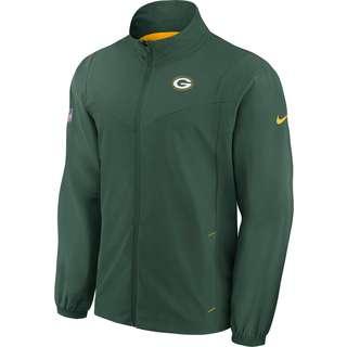 Nike Green Bay Packers Polyjacke Herren fir-university gold