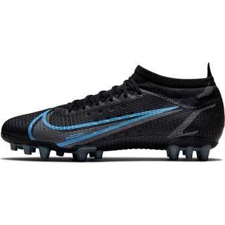 Nike Mercurial VAPOR 14 PRO AG Fußballschuhe Herren black-black-iron grey-univ blue