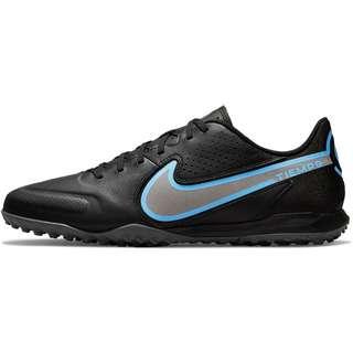 Nike Tiempo LEGEND 9 ACADEMY TF Fußballschuhe black-black-iron grey-univ blue