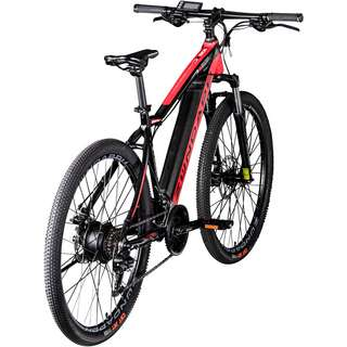 Zündapp Z801 650B E-Bike E Mountainbike MTB Hardtail schwarz/rot