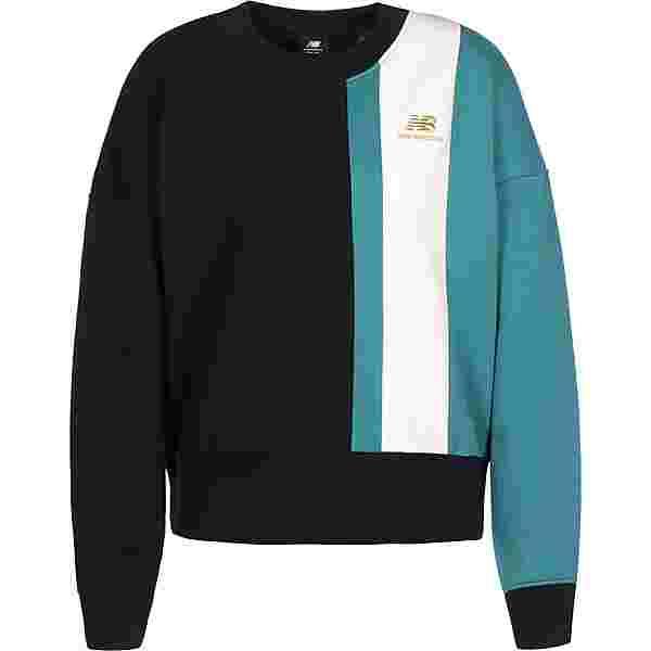 NEW BALANCE Athletics Higher Learning Sweatshirt Damen schwarz/weiß/blau