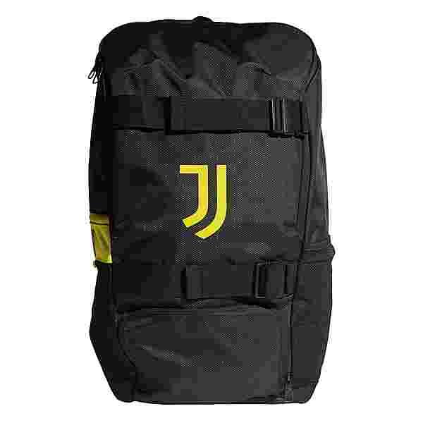 adidas Rucksack Juventus Turin ID Rucksack Daypack Herren Black / Shock Yellow