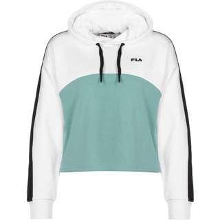 FILA Sportswear Hoodie Damen weiß/blau/schwarz