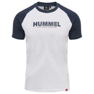 hummel hmlLEGACY BLOCKED T-SHIRT T-Shirt WHITE
