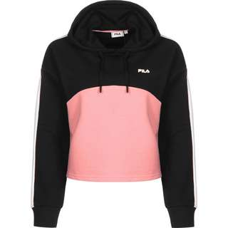 FILA Sportswear Hoodie Damen schwarz/pink