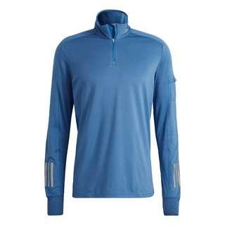 adidas Own the Run 1/2 Zip Warm Sweatshirt Funktionssweatshirt Herren Blau