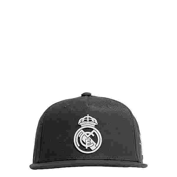 adidas Real Madrid Snapback Kappe Cap Herren Carbon / Chalk White