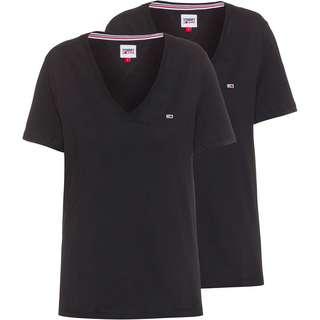 Tommy Hilfiger Shirt Doppelpack Damen black-black