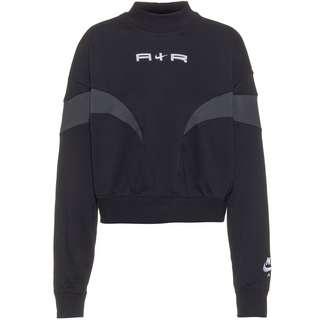 Nike NSW Air Sweatshirt Damen black-dk smoke grey-white