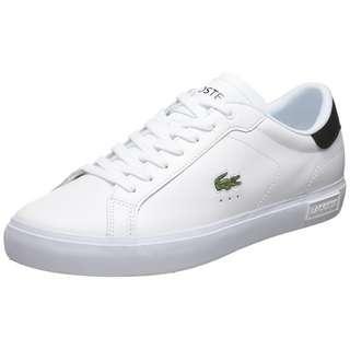 Lacoste Powercourt Sneaker Herren weiß / schwarz