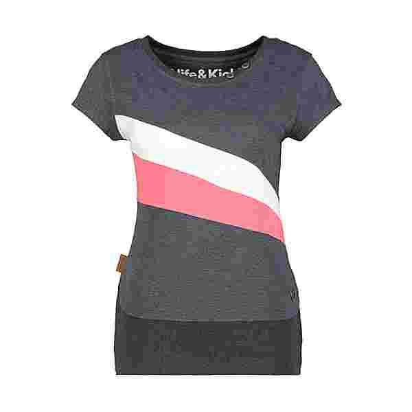 ALIFE AND KICKIN CleaAK T-Shirt Damen marine
