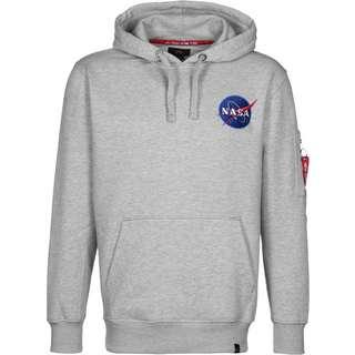 Alpha Industries Space Shuttle Hoodie Herren grau/meliert
