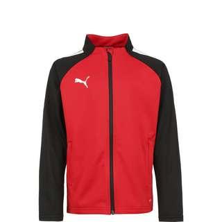 PUMA TeamLIGA Trainingsjacke Kinder rot / schwarz