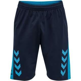hummel hmlACTION COTTON SHORTS Shorts BLACK IRIS/ATOMIC BLUE