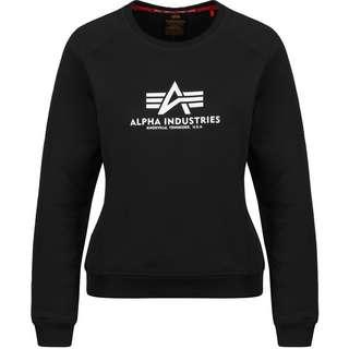 Alpha Industries New Basic W Sweatshirt Damen schwarz