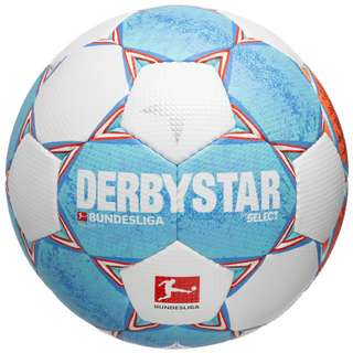 Derbystar Bundesliga Brillant TT v21 Fußball Herren weiß / hellblau