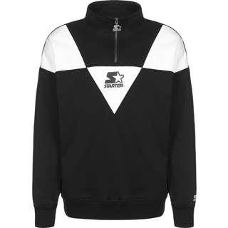 STARTER Triangle Troyer Sweatshirt Herren schwarz/weiß