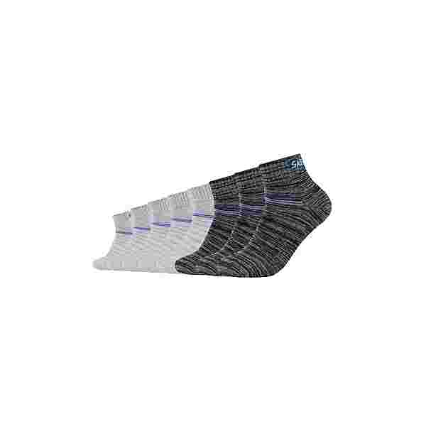 Skechers Sneakersocken dark grey mix