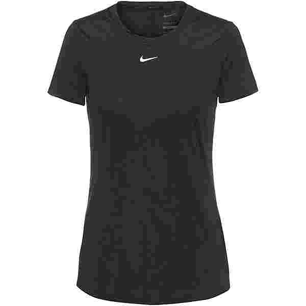Nike ONE Dri-Fit Funktionsshirt Damen black-white